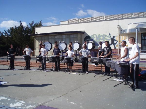 drum corps drumline audition