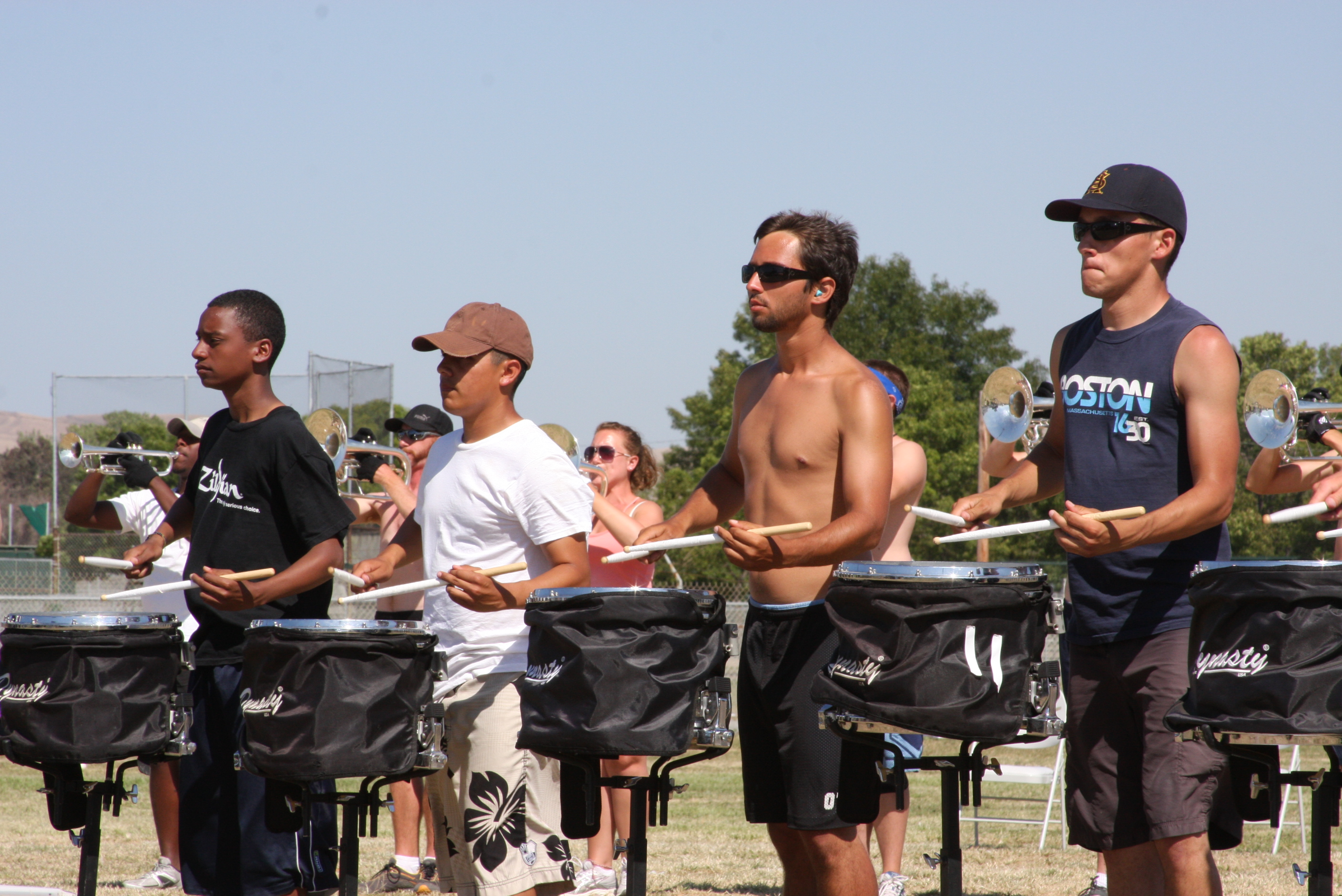Drum Corps Camp=Get Work DONE