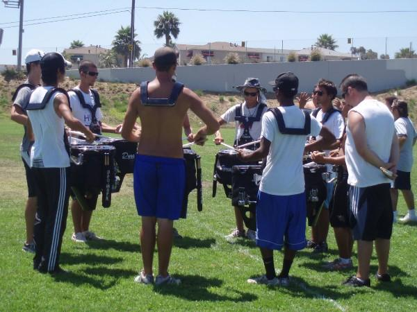 Handle the details during every drumline rehearsal