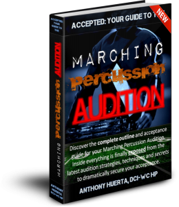 Accepted Your Guide To The Marching Percussion Audition 260x300 Drum Corps Audition Tip: Playing By Yourself