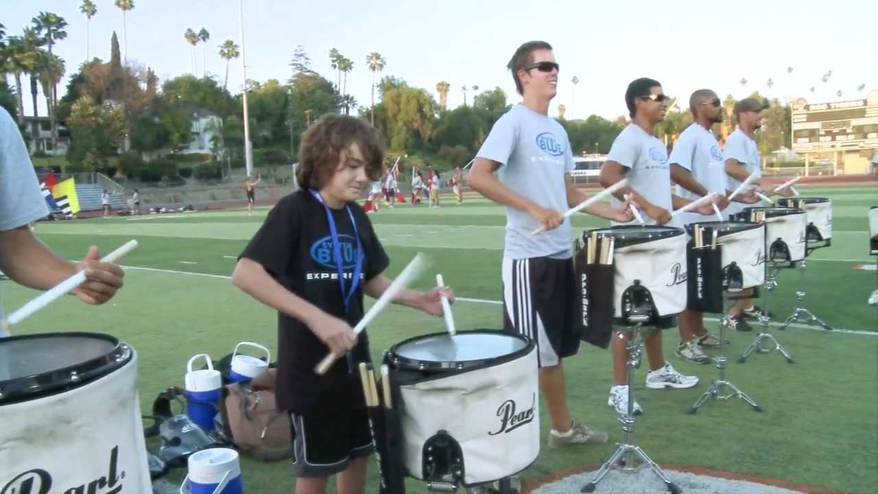 2010 Blue Devils drumline – 12 yr old Brandon MORE
