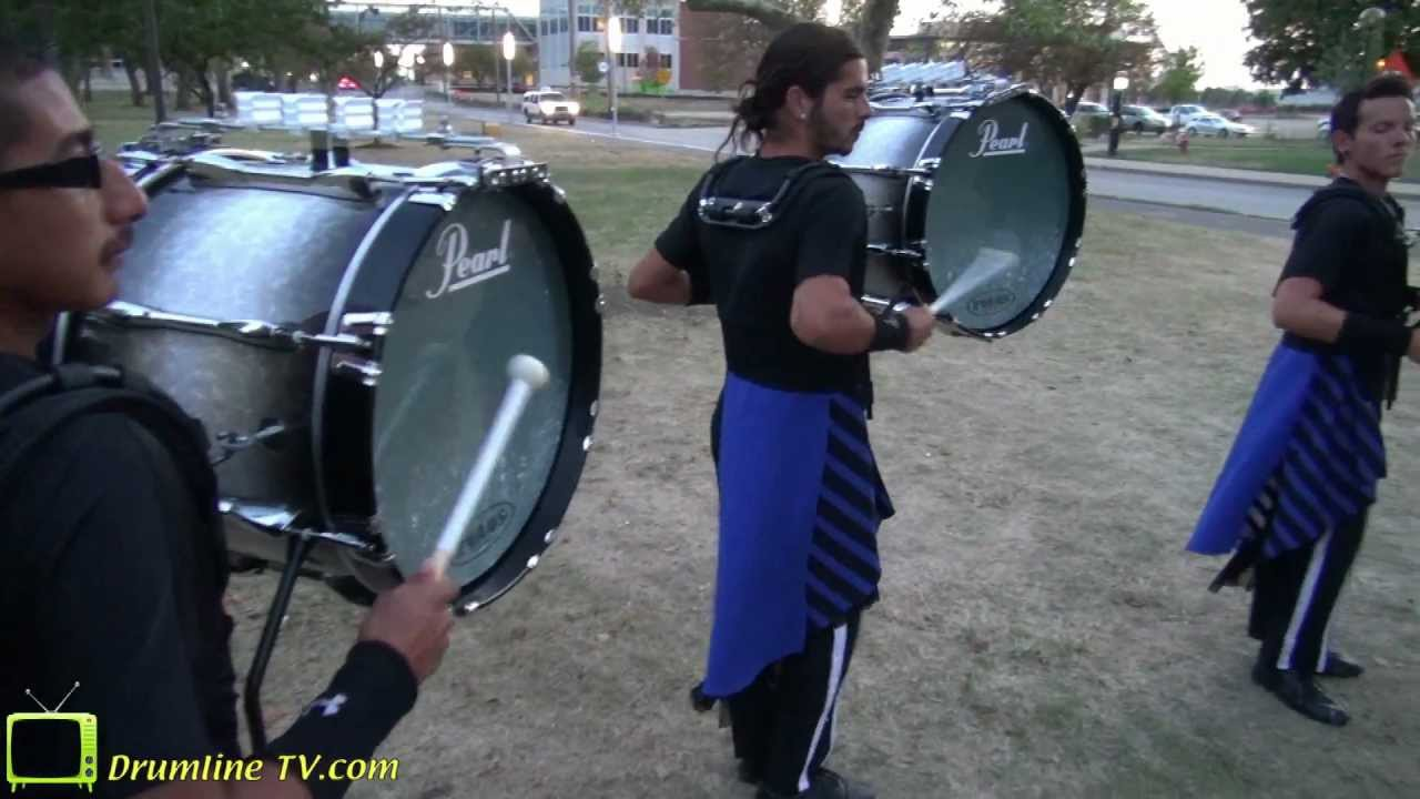 2012 Blue Devils Bass Line – DCI Semi-Finals 8-10-12 – Having Some Fun!