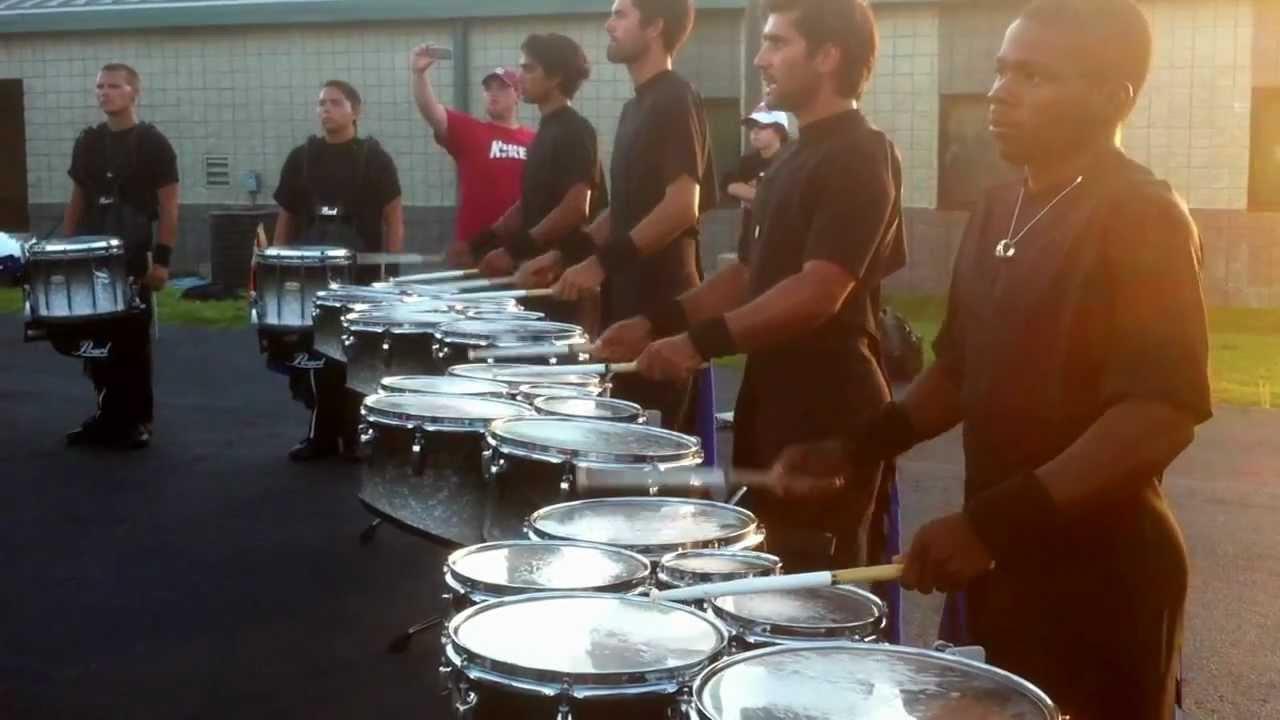 2012 Blue Devils Drumline @ DCI Atlanta