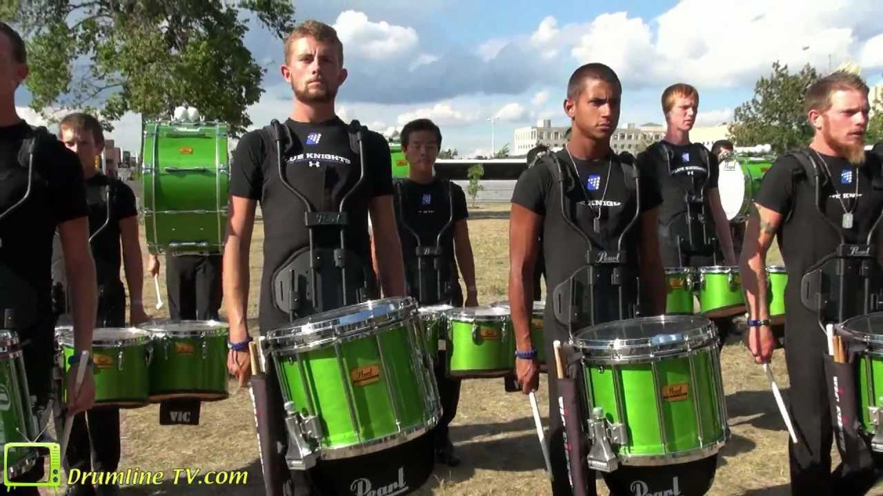 2012 Blue Knights Drumline – DCI Semi-Finals Show – Indianapolis, Indiana – August 10, 2012