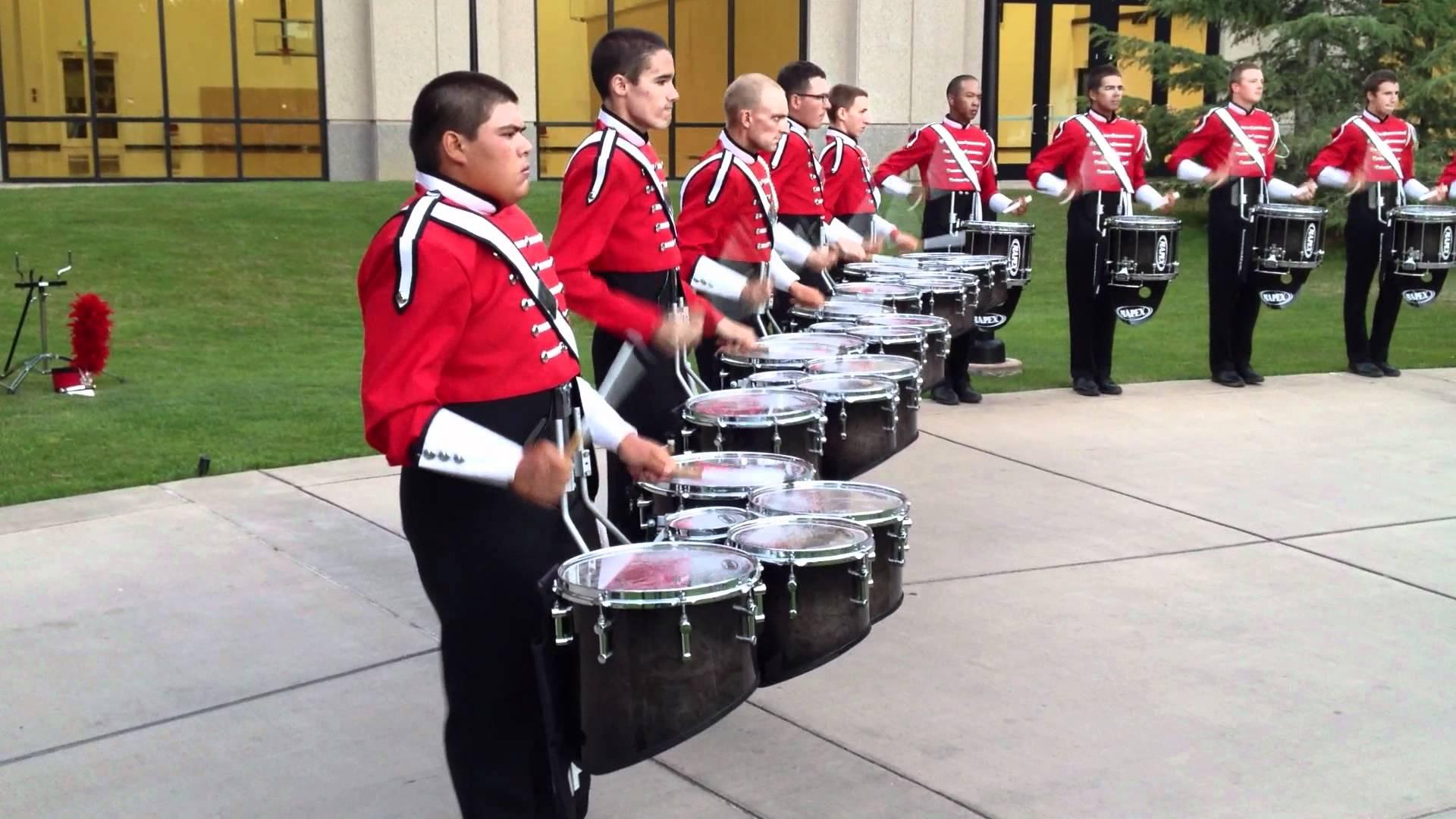 2012 Boston Crusaders Drumline – Book 1 – DCI West