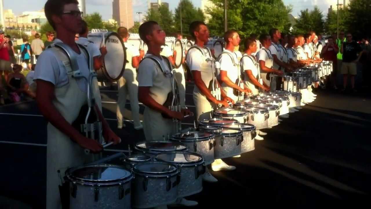 2012 Cadets Drumline @ DCI Atlanta