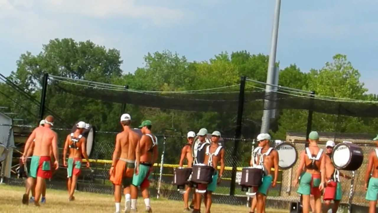 2012 Cadets Drumline- Drum feature
