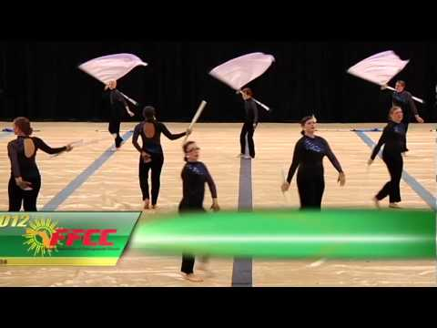 2012 FFCC Winter Guard & Percussion Championship Highlights (AA)