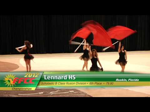 2012 FFCC Winter Guard & Percussion Championship Highlights (Nov, Cad, B)