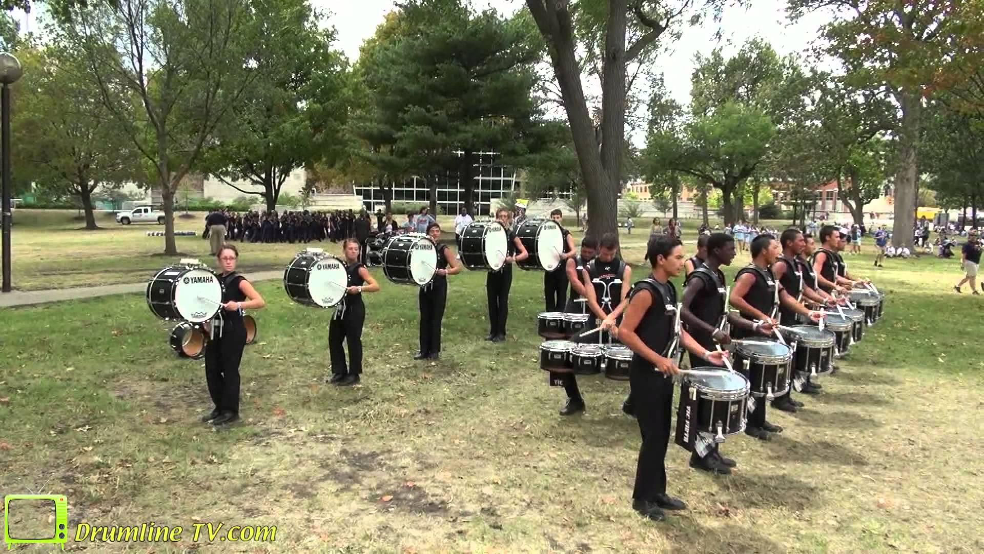 2012 Mandarins Drumline – DCI Semi-Finals Show – Indianapolis, Indiana – August 10, 2012