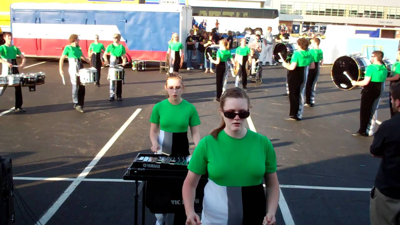 2012 Martinsville Percussion Ensemble In The Lot