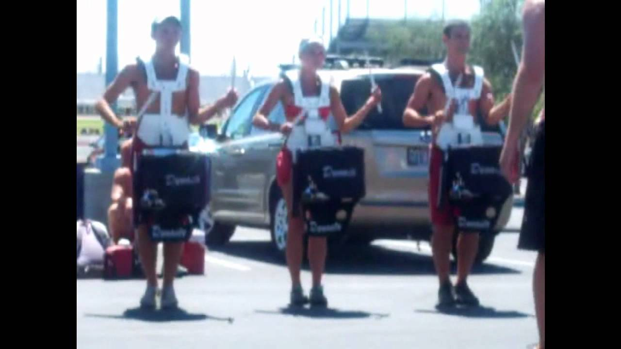 2012 Phantom Regiment Drumline Book & On Field Drum Break 7/2/12