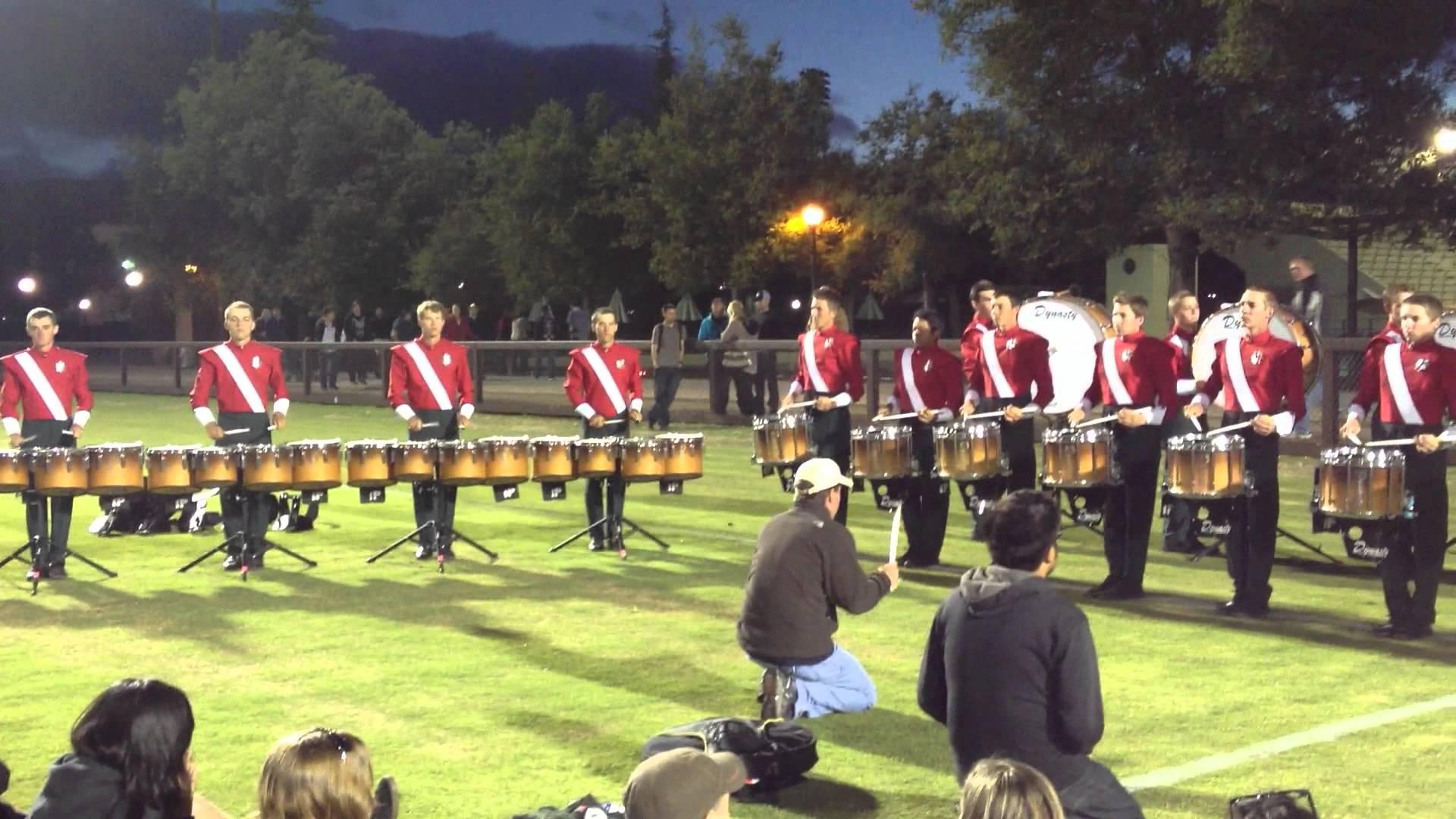 2012 Santa Clara Vanguard Drumline – Book 1 – DCI West