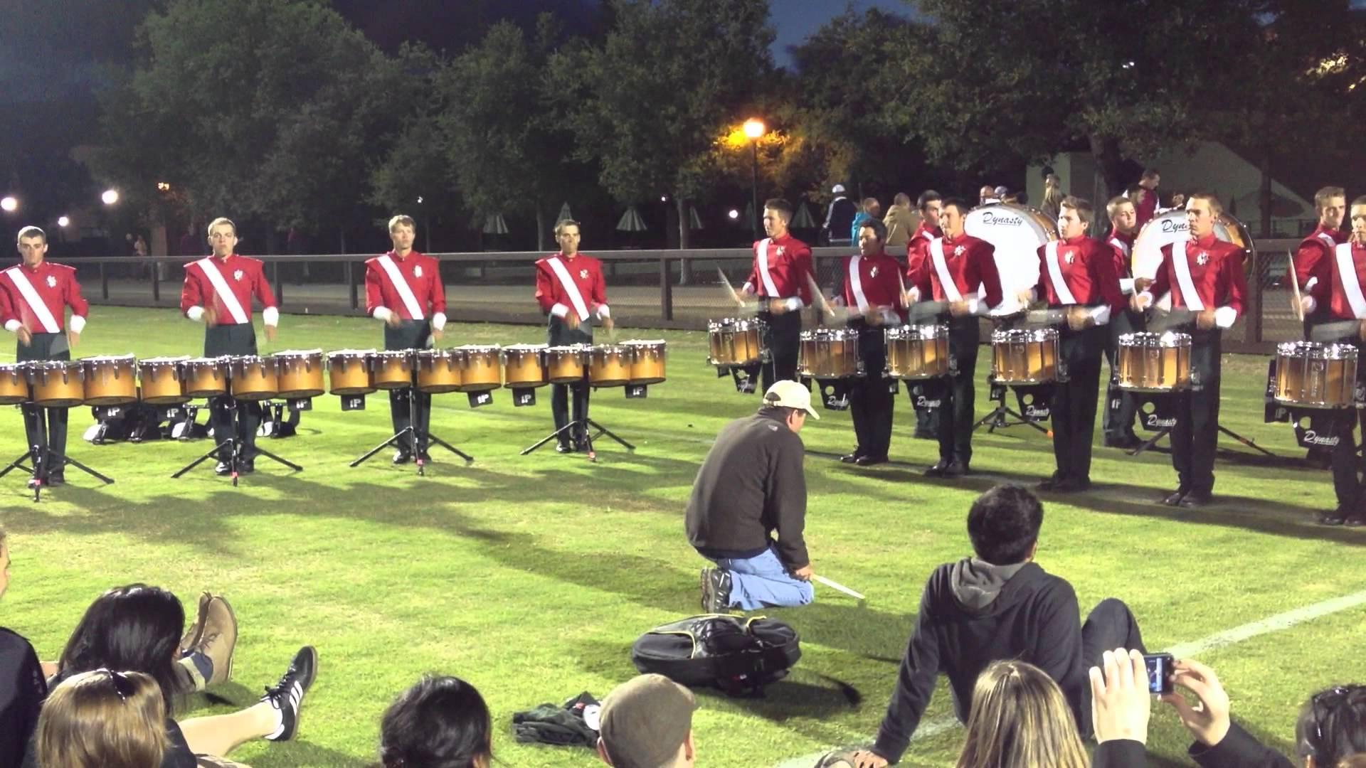2012 Santa Clara Vanguard Drumline – Book 2 – DCI West