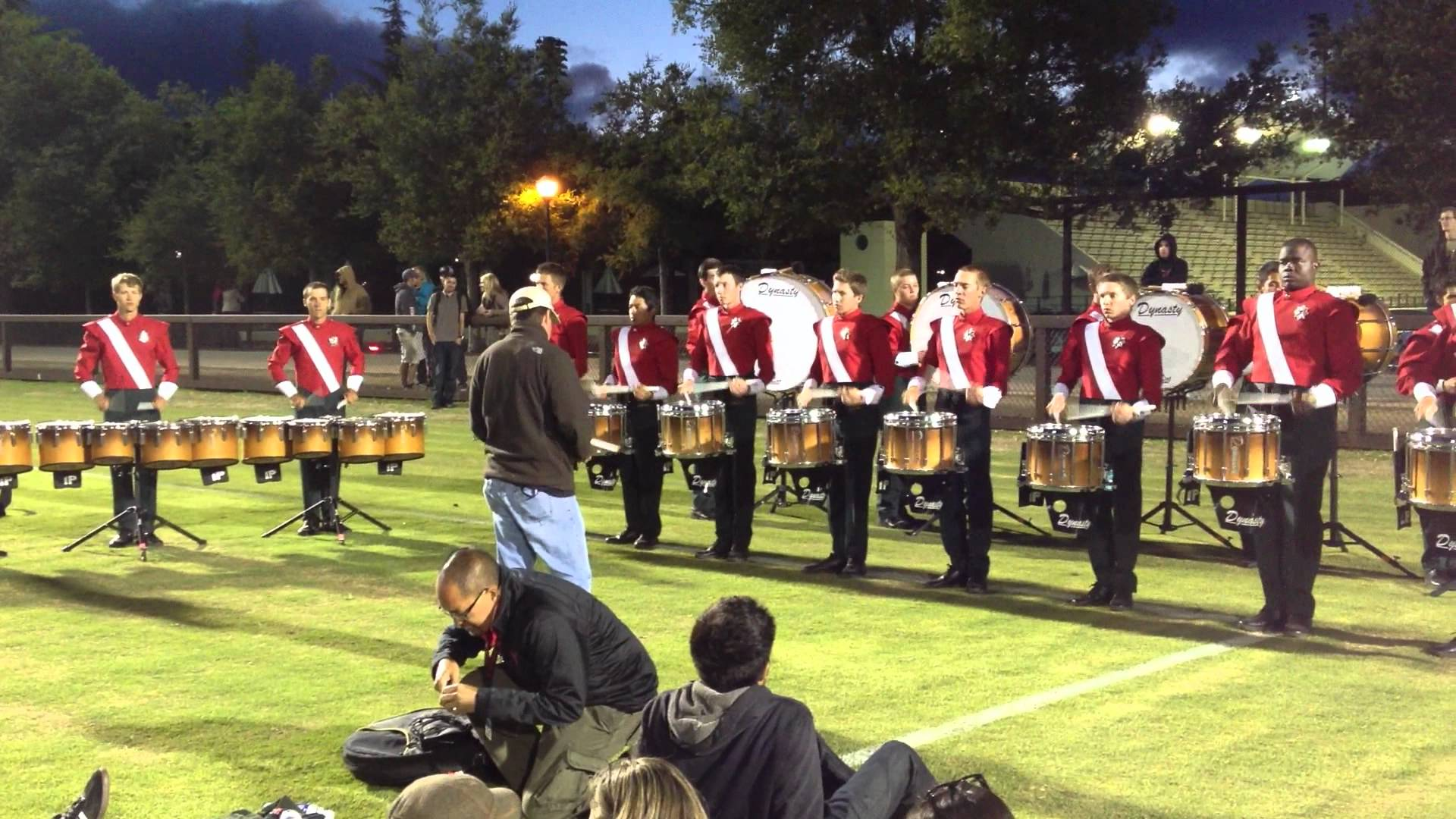2012 Santa Clara Vanguard Drumline – Rolls – DCI West