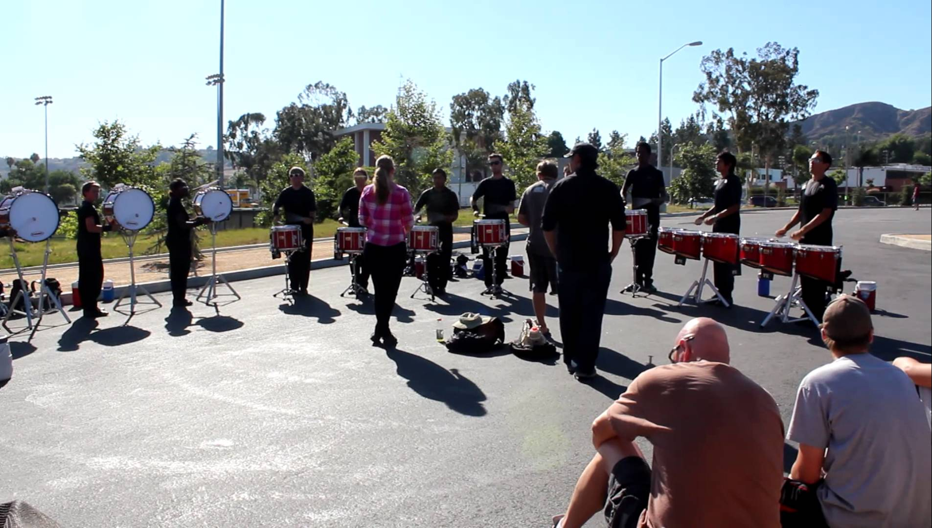 2012 – Velvet Knights Drumline – Warmup #3 (6/30 – Walnut, CA)