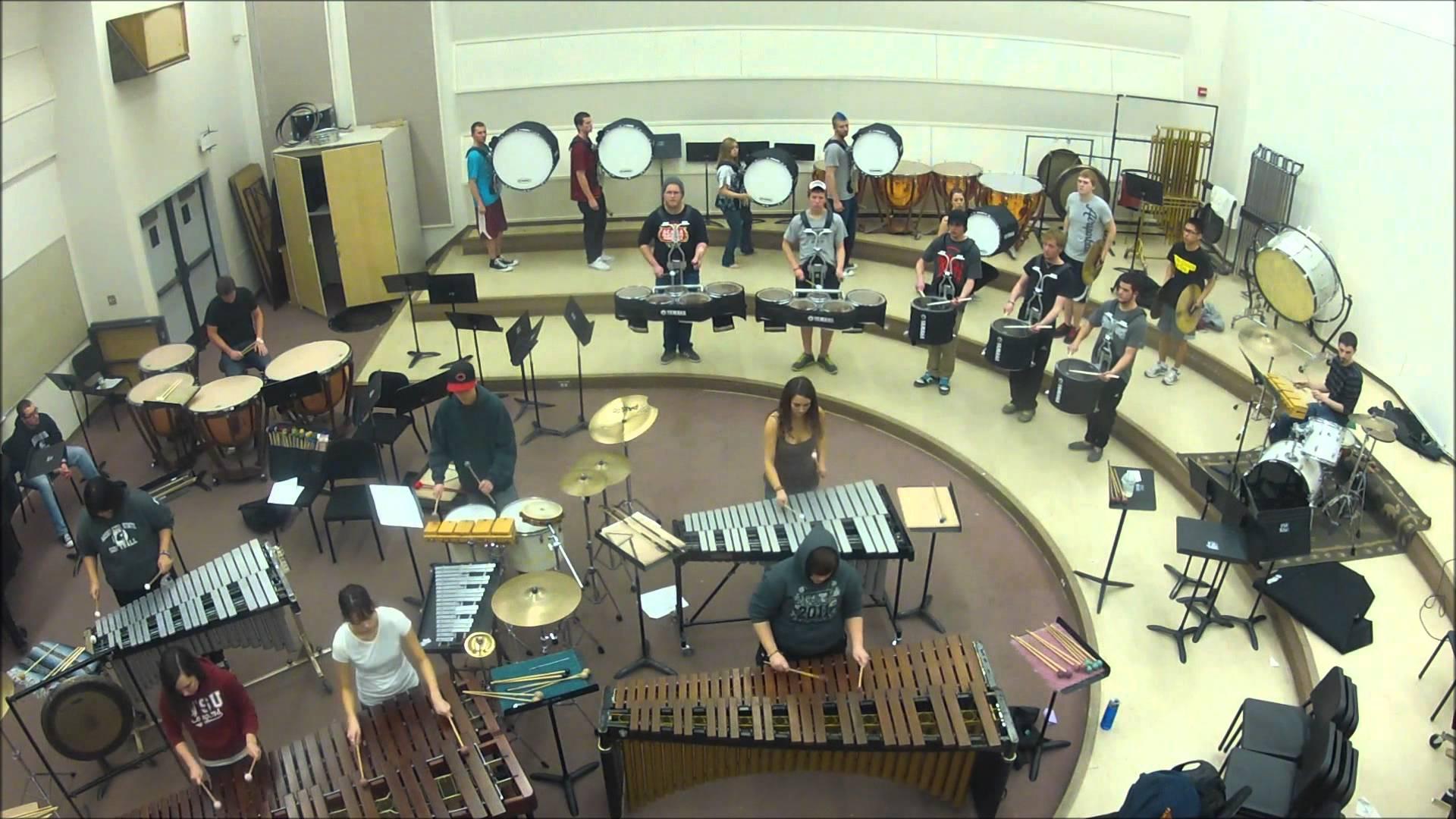 2012 WSU Indoor Drumline, early season standstill. DJ Shadow