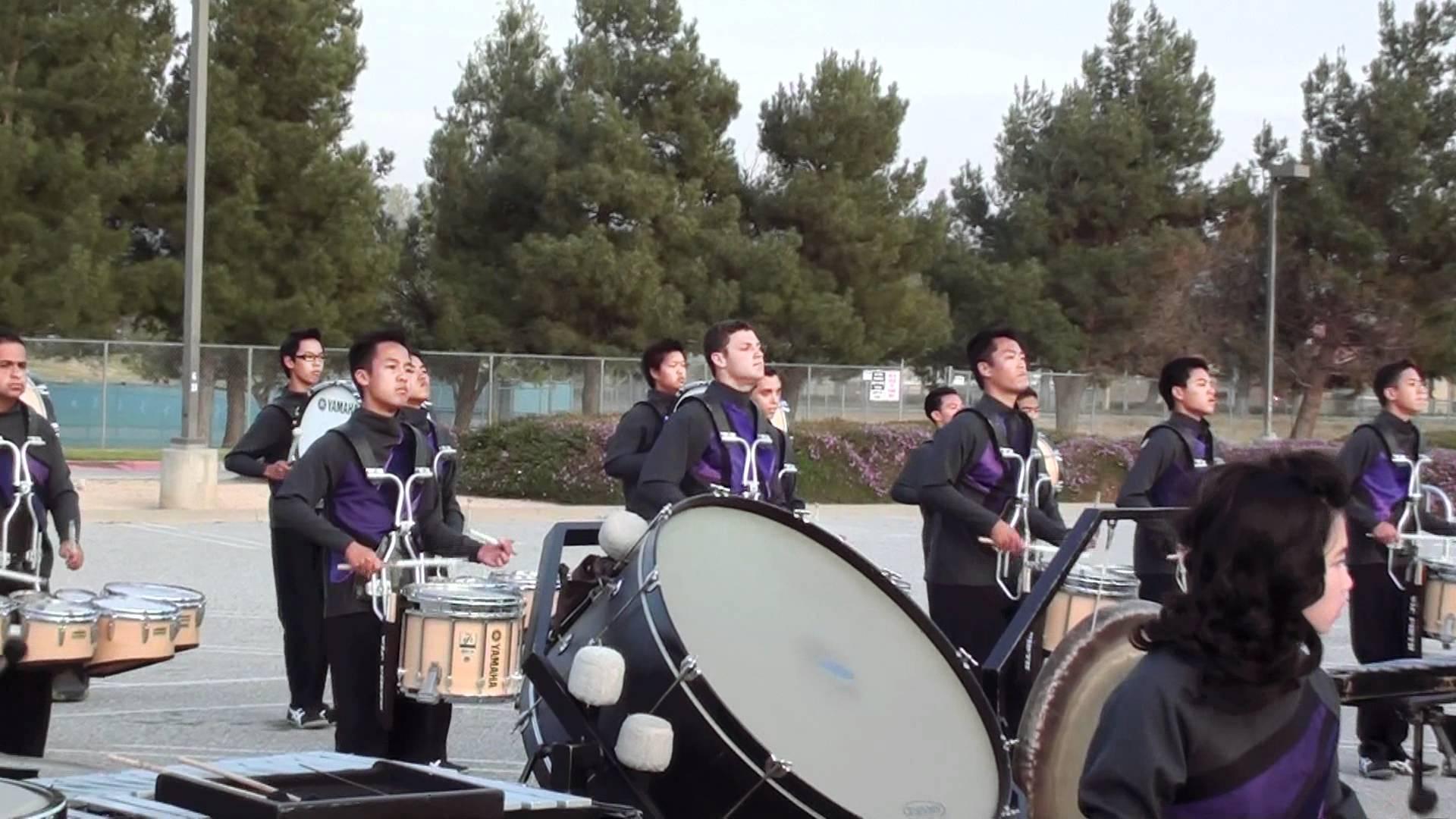 Arcadia HS World Percussion Drumline 3-24-2012 WGI Regional CSU San Bernardino