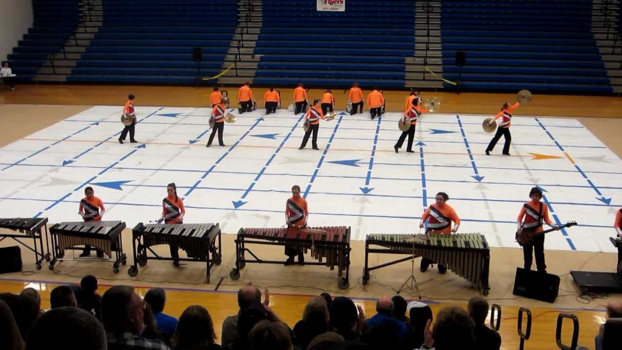 "Arcadia Indoor Drumline – ""Stop Motion"" – Central Crossing, February 25, 2012"