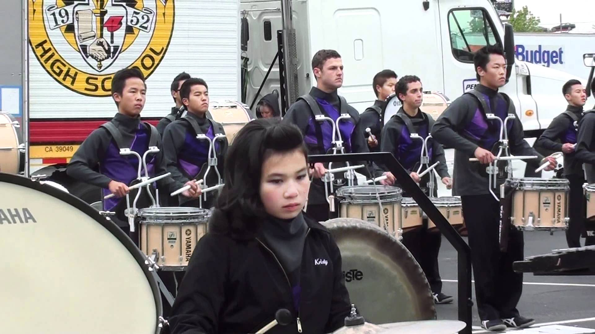 Arcadia Percussion Drumline 2012 – WGI Dayton In the Lot Final Run