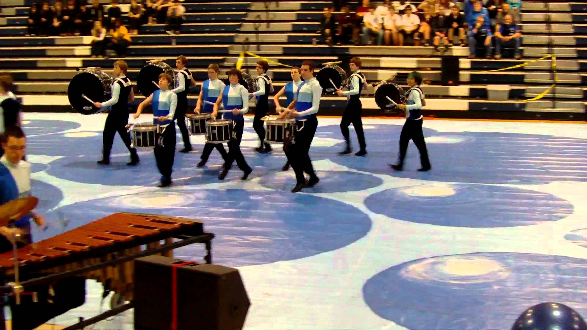 Athens Drive Blue Winter Drumline 2012 – Clayton