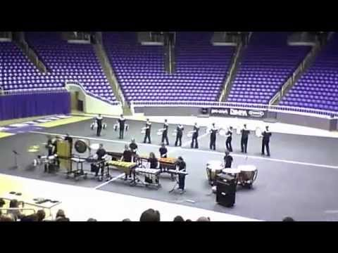 "Avant Winter Drumline 2012 ""Aftershock"""