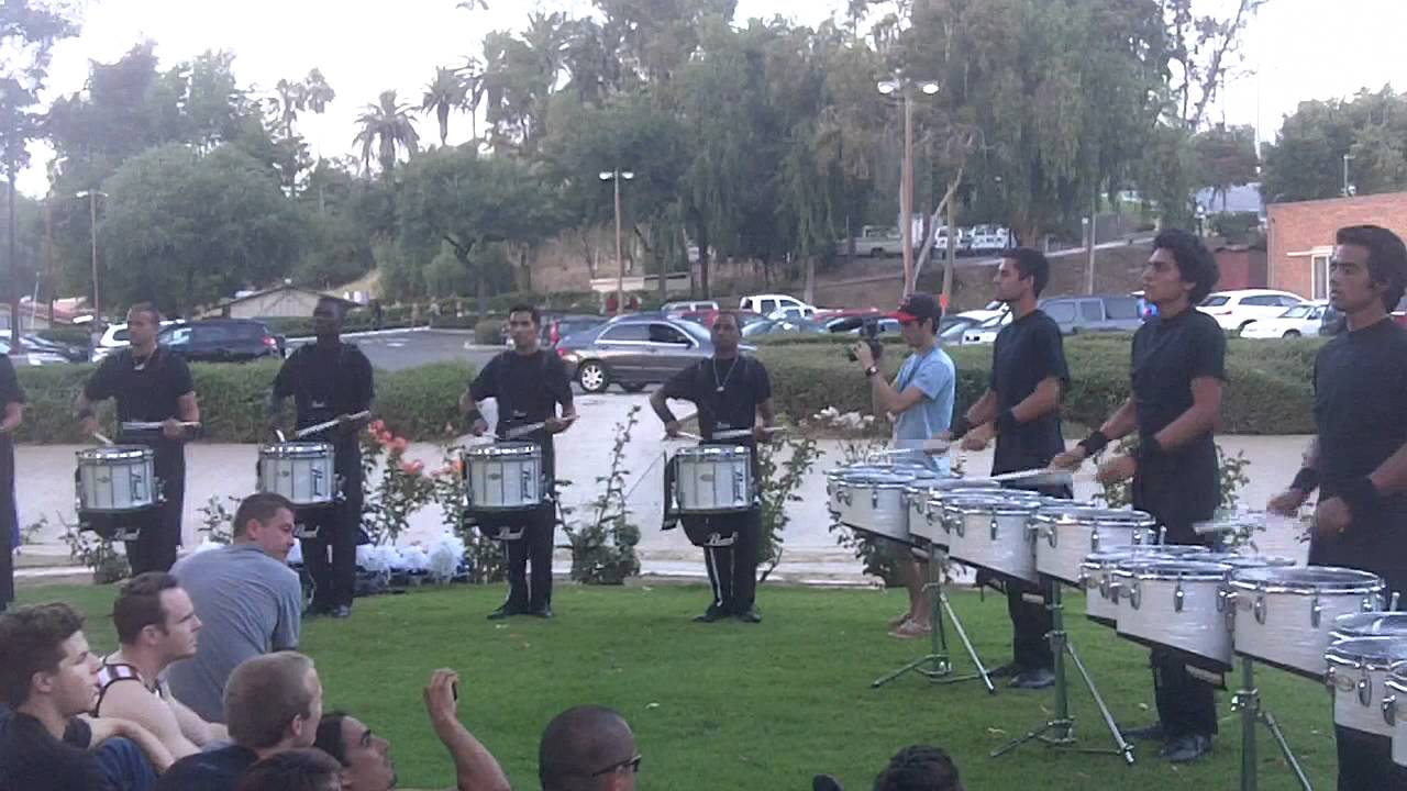 Blue Devils 2011 Drumline – In The Lot