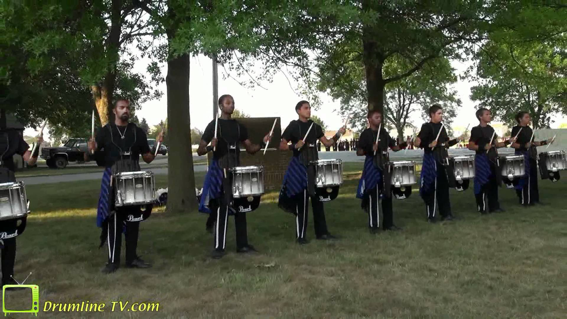 Blue Devils 2012 Drumline – Celebration in Brass Show – Waukee, Iowa 7-10-12