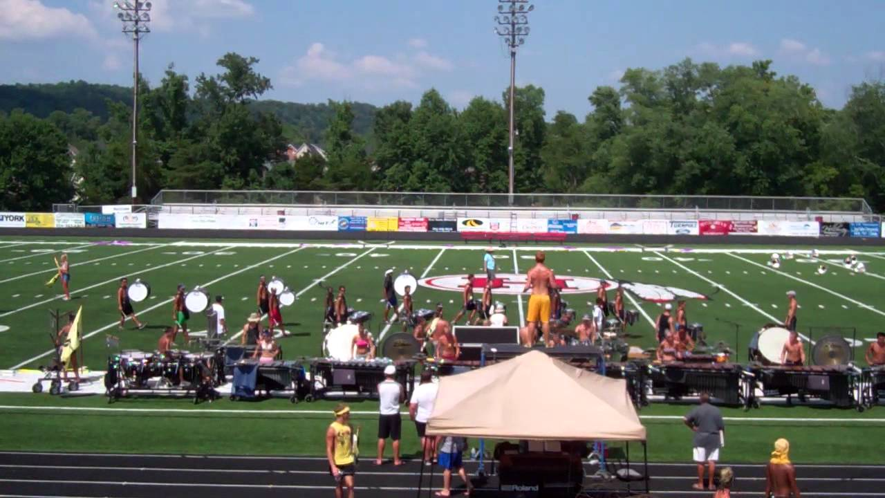 Blue Devils 2012 Drumline – Drum Solo (On the Field)