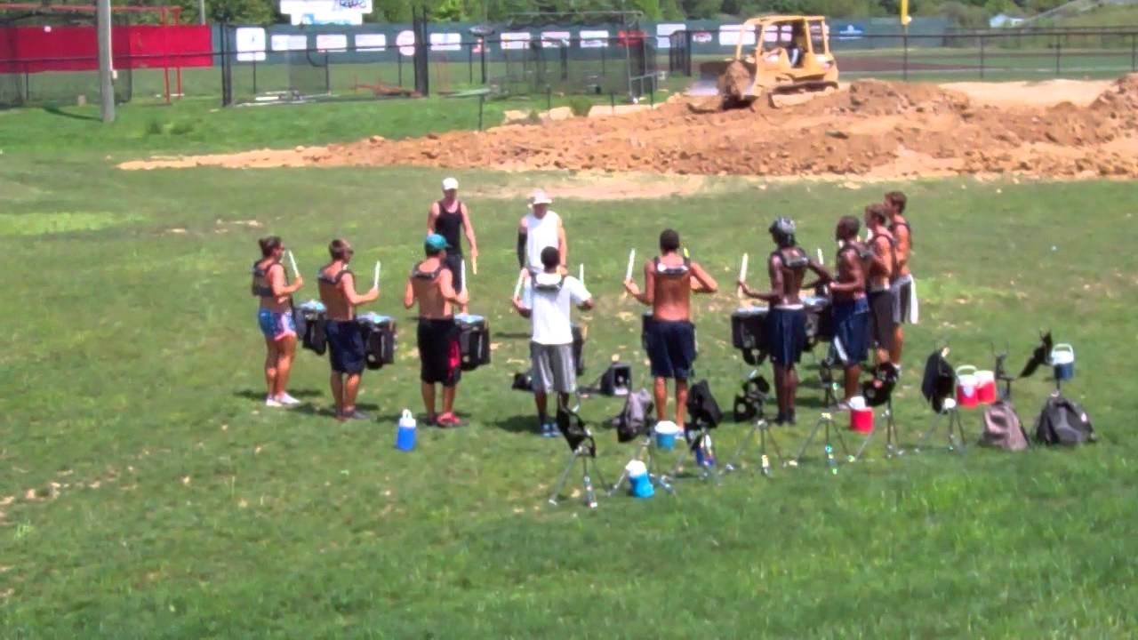 Blue Devils 2012 Drumline – Drums Across the Tri-State – Charleston WV 7-30-12