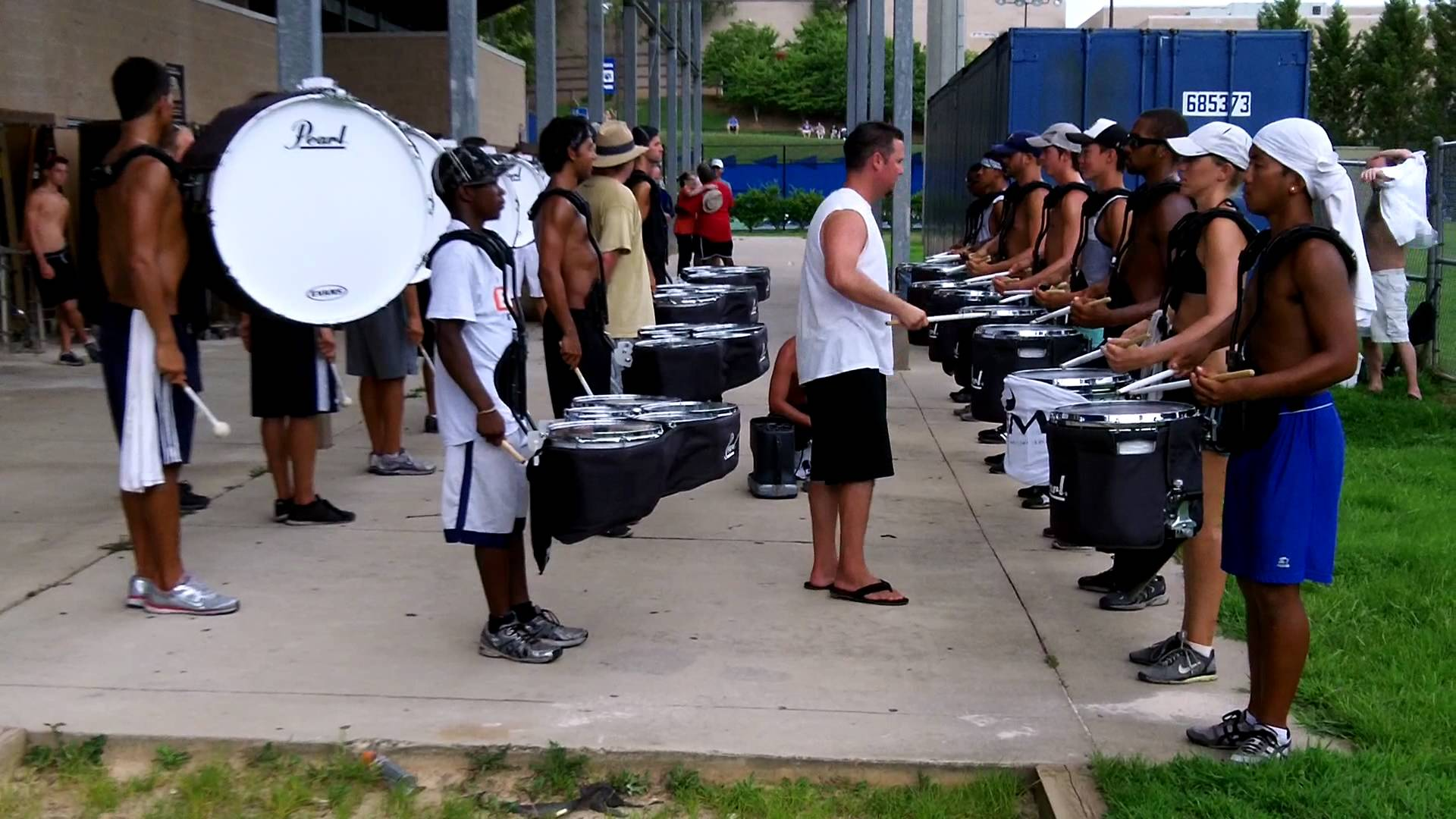 Blue Devils Drum Line 2011 – Solo Run Through the Snare Break ATL