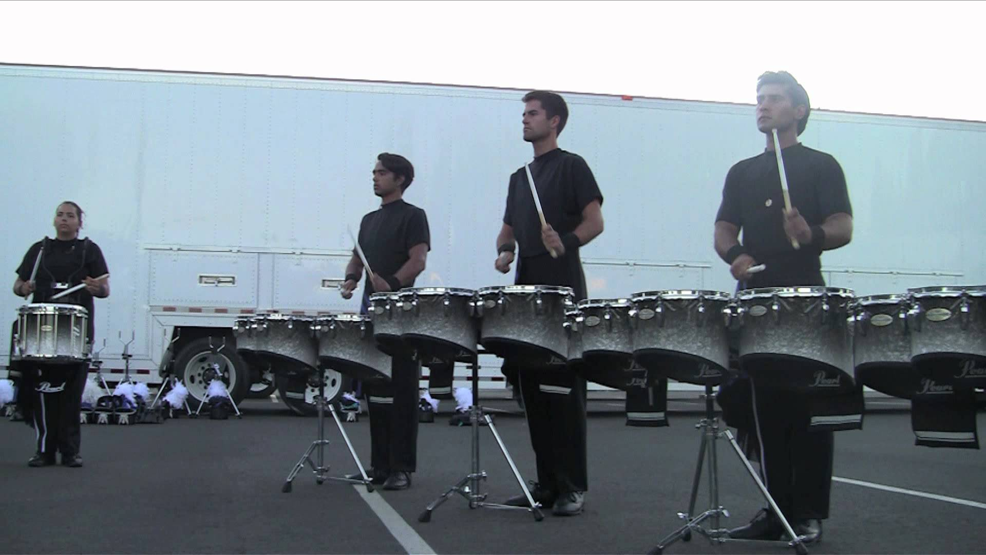 Blue Devils Drumline 2012 – Jazz Section