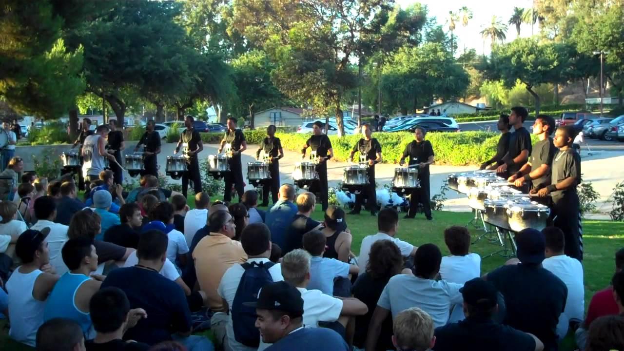 Blue Devils Drumline 2012 Triplet Diddle RCC Lot