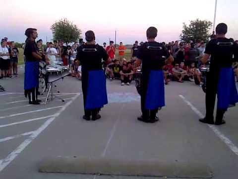 Blue Devils drumline/DCI Denton 2012