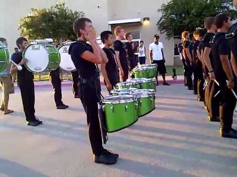 Blue Knights drumline 2/DCI Denton 2012