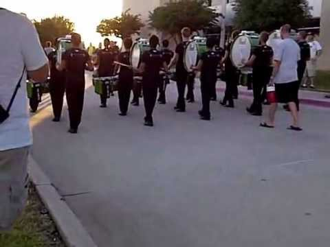 Blue Knights drumline/DCI Denton 2012