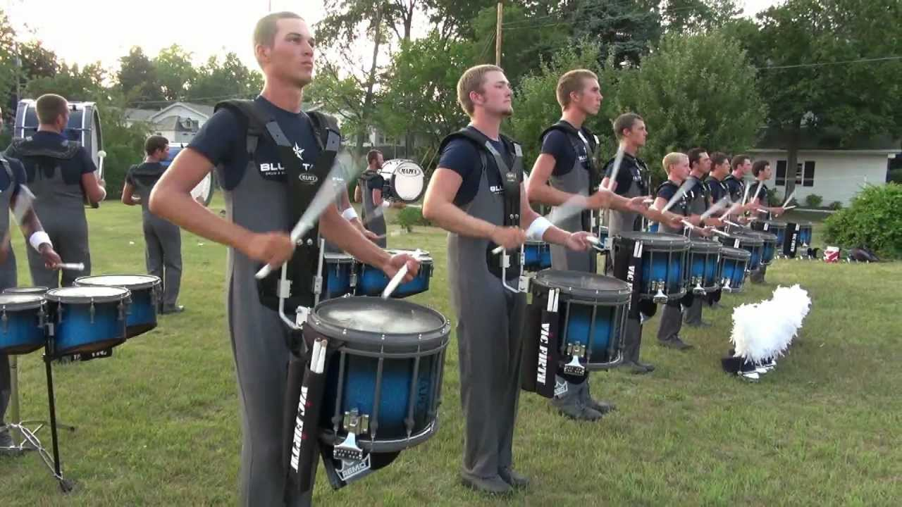 Blue Stars Drumline 2012 – Pageant of Drums Show – Michigan City, Indiana 6-30-2012