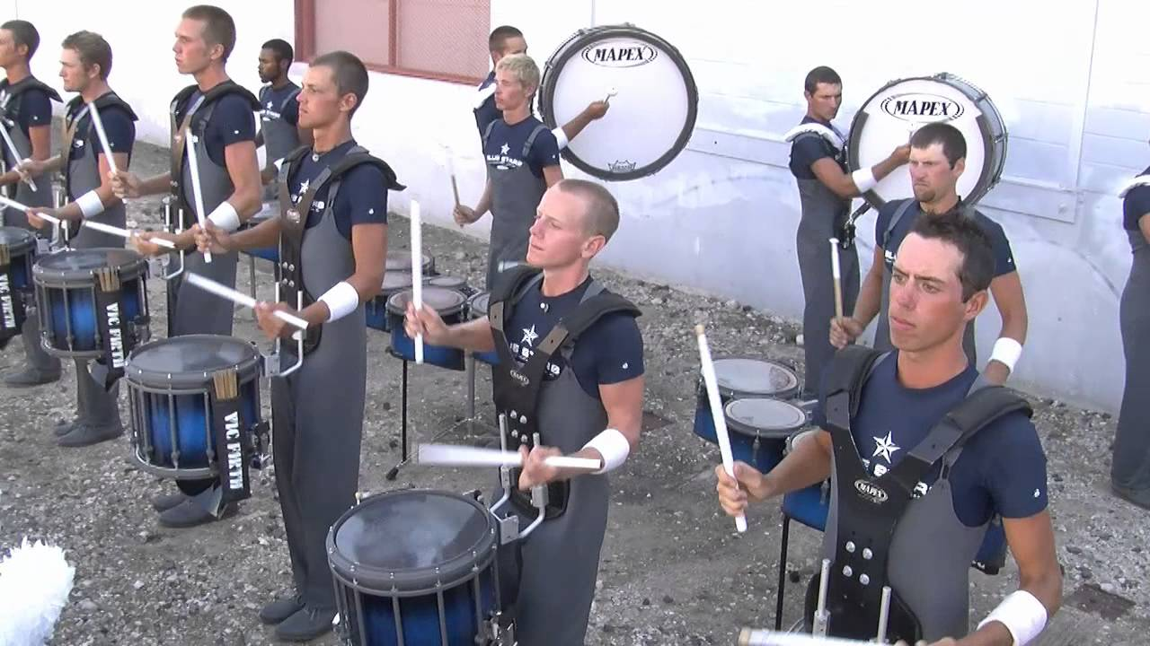 "Blue Stars ""In the Lot"" : DCI 2012 San Antonio : HD Footage!"