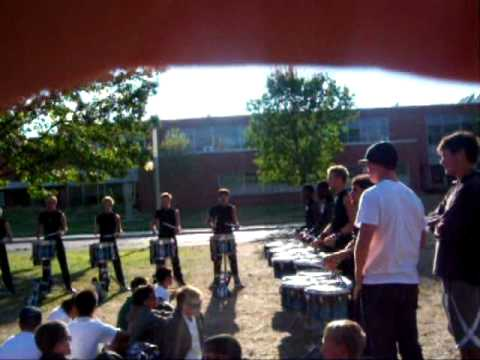Bluecoats 2012 Drumline in the Lot – DCI World Semifinals