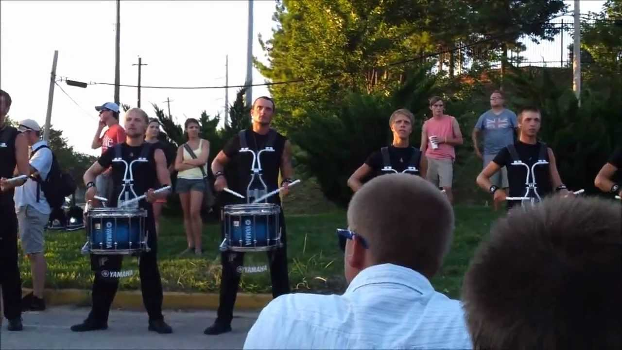 Bluecoats Drumline 2012 – Atlanta DCI Southeastern Championships – Atlanta, GA 7/28/2012 Movement 3