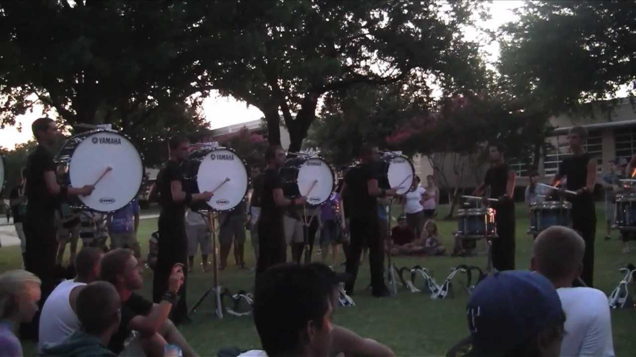 Bluecoats Drumline 2012 – Exercises