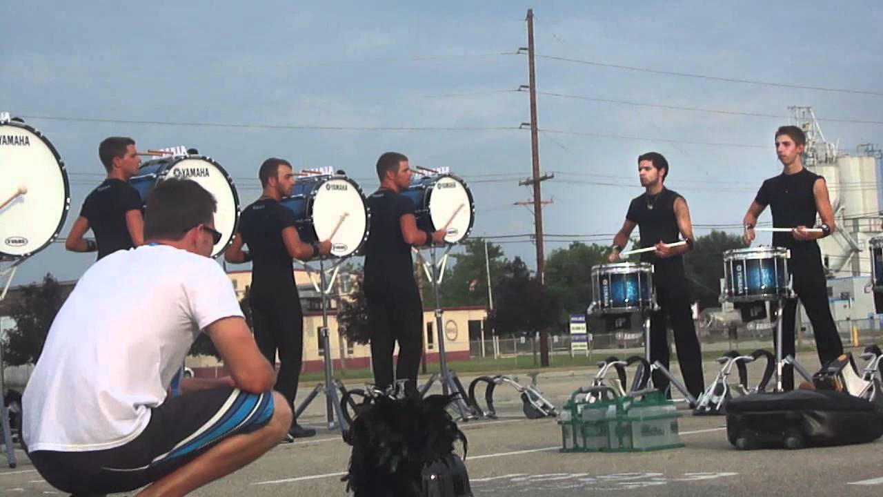 Bluecoats Drumline 2012 In the Lot