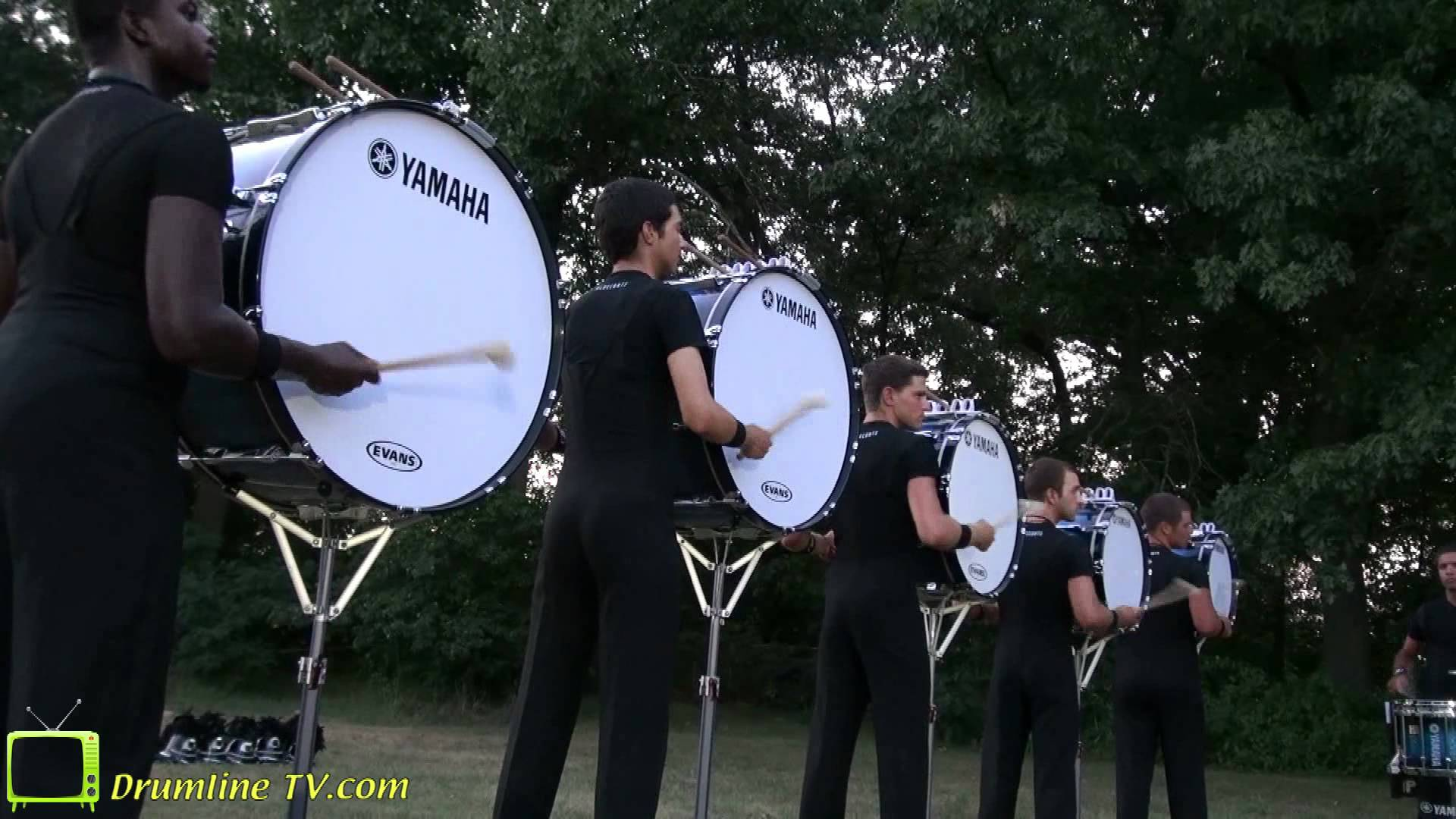 Bluecoats Drumline 2012 – Pageant of Drums Show – Michigan City, Indiana 6-30-2012