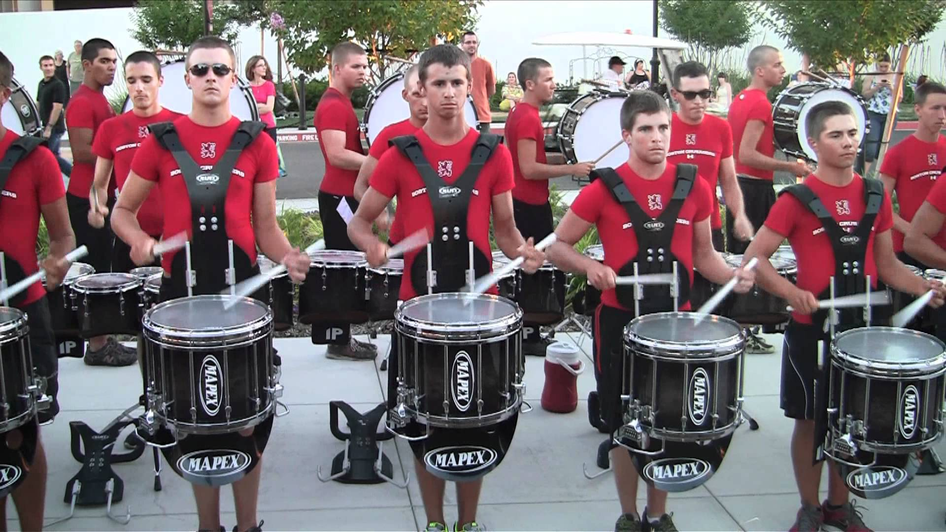 Boston Crusaders Drumline 2012 – Exercises