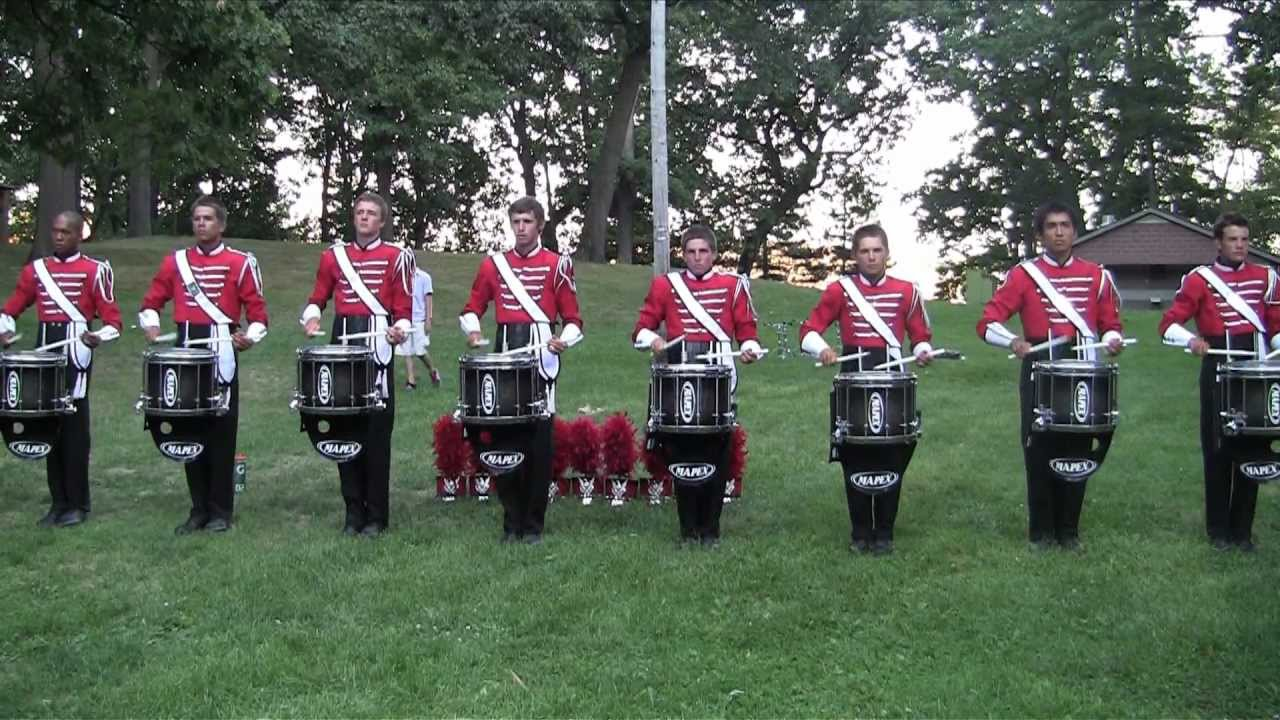 Boston Crusaders Drumline 2012 – Show Music