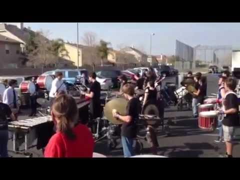 Buena High School Drumline 2012 In The Lot: WGI Corona Regional
