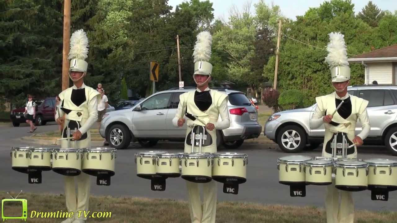 Carolina Crown 2012 Drumline – Show of Shows – Rockford, Illinois 7-15-12