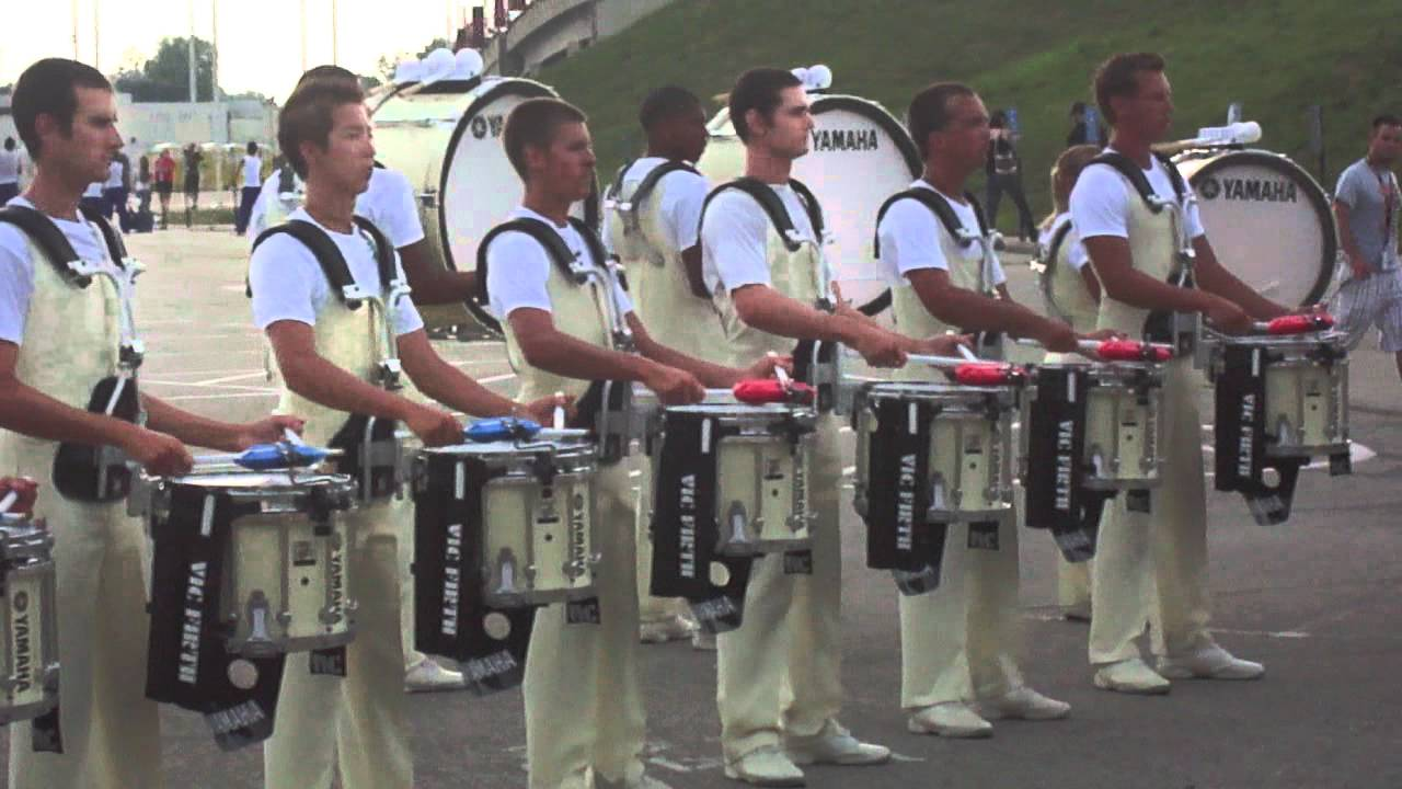 Carolina Crown Drumline 2012 Seven is Heaven In the Lot