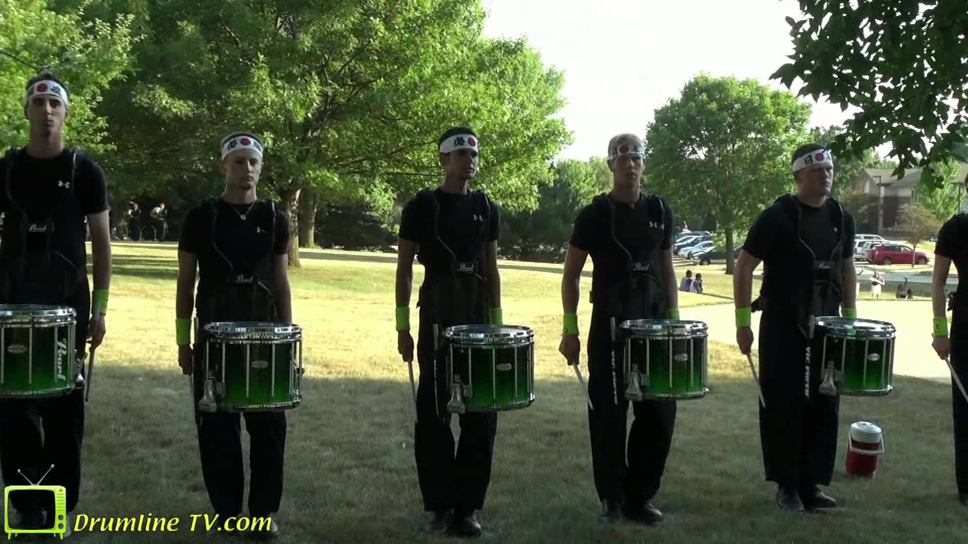 Cascades 2012 Drumline – Celebration in Brass Show – Waukee, Iowa 7-10-12