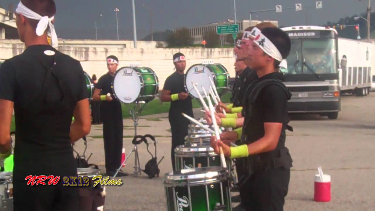 Cascades 2012 Drumline – Drums Across the Tri-State – Charleston WV 7-30-12